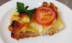 TIP NA DNEŠNÝ #OBED Lasagne s bravčovým mäsom a syrovým bašamelom #DenneMenu #Restauracia