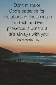 the lord, remember this, faith, jesus, god time, deuteronomi 316, inspir, bible verses, christian quot