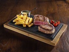The SteakStones Sizzling Steak Plate - good for the cook or the man in the house!