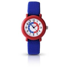 Sekonda Childrens Watch (69 AUD) ❤ liked on Polyvore featuring jewelry, watches, women's accessories, sekonda, red watches, sekonda watches, red jewelry and white dial watches