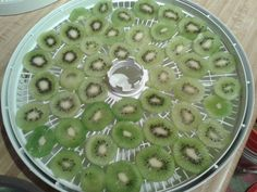They Might Be Homesteading: Dehydrating Kiwi Fruit