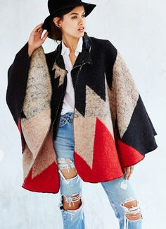 Brixton X UO Lucille Cape | The TOTEFISH Blog