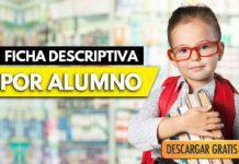 Ejemplo de Ficha descriptiva por alumno