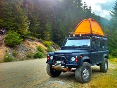Roof tent & DEFENDER2.NET - View topic - [For Sale] James Baroud Hard Shell ...