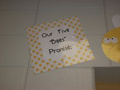First Grader...at Last!: five bees promise