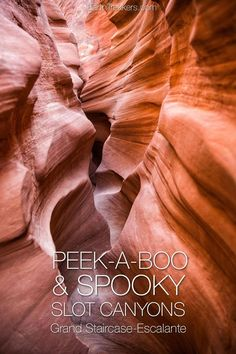 Hiking Peek-A-Boo and Spooky Gulches in Grand Staircase-Escalante in Utah. #utah #spookygulch #grandstaircase #hiking
