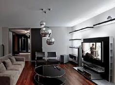 Luxury Living Room Interior In Cosy Apartment Ideas With Warm Interior Design For A Young Family With Luxury Design Home Interior Living Room Decoration Ideas Luxury Living Room, Modern Family Rooms, Apartment Design, Family Room Design, Apartment Living Room, Home Decor, Modern Apartment Design, Home Builders, Modern Apartment