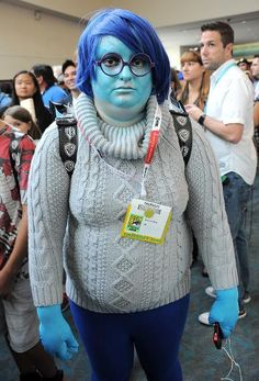Sadness Inside Out Cosplay