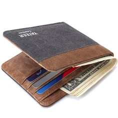 100% Genuine Leather Wallet Men Clip Cowhide Wallet Men Brand Wallet Coin Clutches Men's Purse Coin Pouch Short Wallet Men