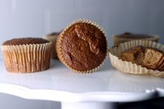 Pumpkin Muffins (made with coconut flour) Dairy-free, Gluten-free, Lactose-free, Nut-free, SCD (Specific Carbohydrate Diet), Vegetarian, Wheat-free