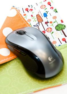 How to Make/Sew a Fabric Mouse Pad