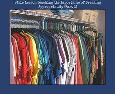 Bible study on modest dressing