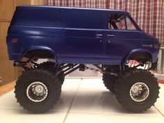 Chevy Van 4 x 4 Hot Rod Trucks, Custom Trucks, Lifted Trucks, Cool Trucks, Chevy Trucks, Pickup Trucks, Chevy 4x4, Lifted Van, Big Monster Trucks