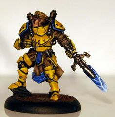 I just bought a load of Cygnar models, and was thinking of paiting them in yellow, this is what I found while looking for ideas/reference...    A whole boat load of yellow Cygnar models - Very image heavy