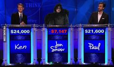 You know nothing, Jon Snow!