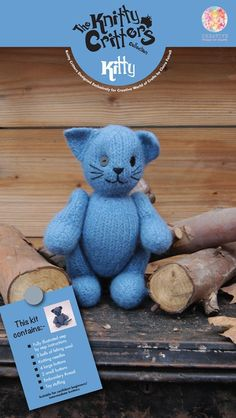 Blue Kitty by The Kn