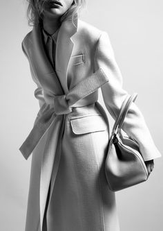 Belted coat #style #fashion