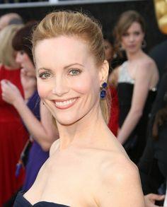 Leslie Manns Oscars-worthy ponytail