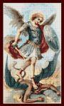 Cross Stitch Pattern - PDF - Saint Michael