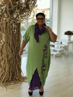 Xl Fashion, Curvy Fashion, Plus Size Fashion, Fashion Outfits, Maxi Skirt Tutorial, Funky Dresses, Dress Sewing Patterns, Linen Dresses, African Dress