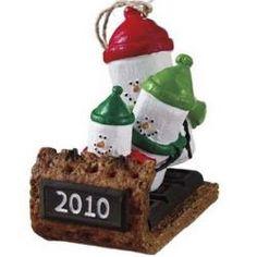 Toboggan Ornament