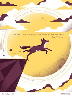 I poster motivazionali di Baron Fig