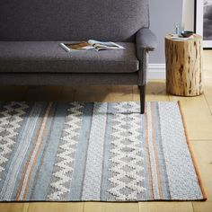 I like this one, too! (and it's way less expensive) - Heirloom Wool Rug   west elm