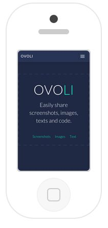Ovoli is an amazing we application that offers #easy_screenshot_sharing to allow users share their information with each other. By following simple steps you can share your images, screenshots and text. Text Codes, Online Image Editor, Your Image, Coding, Simple, Amazing, Easy, Programming