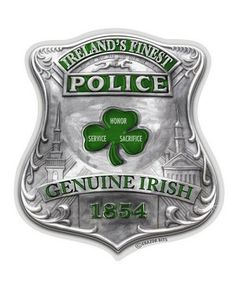 Fir Na Dli Men Of Law Police Sign designed for the men a women with Irish American traditions and heritage in the law enforcement community. Police Shield, Police Sign, Police Badges, Police Cars, Police Officer, Sheriff, Police Stickers, Blue Law, Laptop Cooler