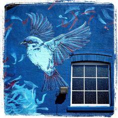 FAUNAGRAPHIC & ROCKET 01 .. for SprayPort .. [Southport, UK 2014] (detail 1) Graffiti, Urbane Kunst, Southport, Street Artists, Pavement, Urban Art, Sculptures, Sidewalk, Wall Art