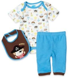 Ahoy pirate, baby boy outfit. too stinking cute i want it