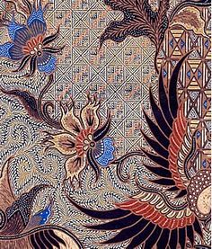 The Kind of Design Althought Central Java is the centre of Javanese Batik, the design evolves according to the part of the region where i. Textiles, Textile Patterns, Textile Art, Print Patterns, Batik Pattern, Pattern Art, Pattern Design, Mehndi, Henna