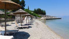 The #beach @MarBella #Corfu!