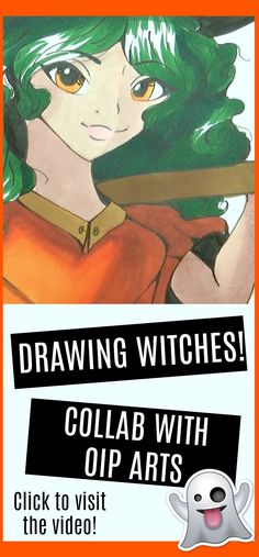 In this video, I illustrate a witch based off of a pumpkin! This is a collaboration with Bella from Oip Arts :)  Make sure to check out her channel and her part of the collab. The links will be in the description box of the video.