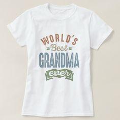 #Best Grandma T-Shirt - #giftidea #giftideas #gifts for #grandpa & #grandma #grandparents