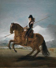 Francisco de Goya - Un saltador de poste