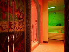Sauna Neon Signs, Nice Asses
