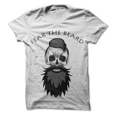 (New Tshirt Deals) Fear The Beard [TShirt 2016] Hoodies, Funny Tee Shirts