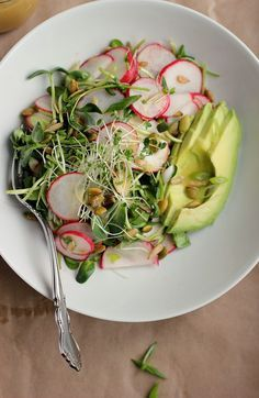 Avocado, Radish + Sp