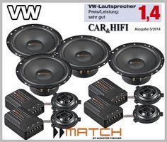 VW Passat Typ 36 2010 - 2014 car speakers upgrade kit best in test in the German Autohifi magazine test winner boost your car stereo sound Passat B7, Vw Cars, Master Bedroom Design, Speakers, Volkswagen, Connection, German, Doors, Play