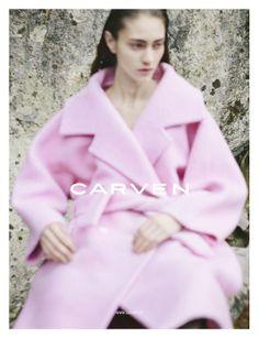 carven coat #ss14