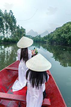 Perfume river, Vietnam