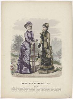 Berliner Modenblatt 1881