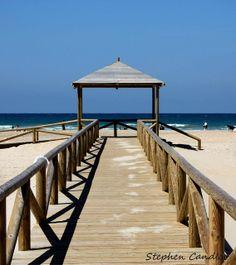 The beach at Conil de la Frontera, Spain