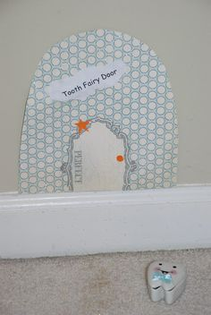 another idea for a tooth fairy door