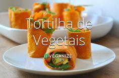 Tortilha de Vegetais
