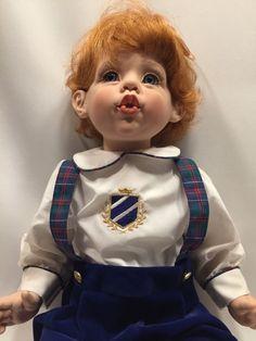 """Fayzah Spanos Doll Timmy 1996 Vinyl 26"""" Precious Heirloom"""