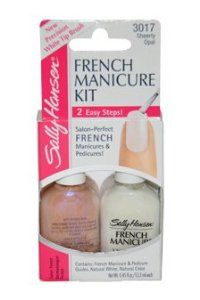 French manicure kit instructions