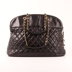 Chanel Shoulder Quilted Bag Large