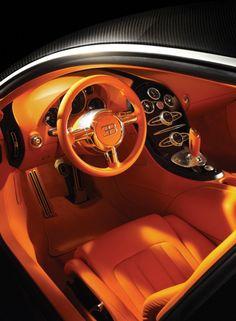 2008 Bugatti Veyron Sang Noir interior